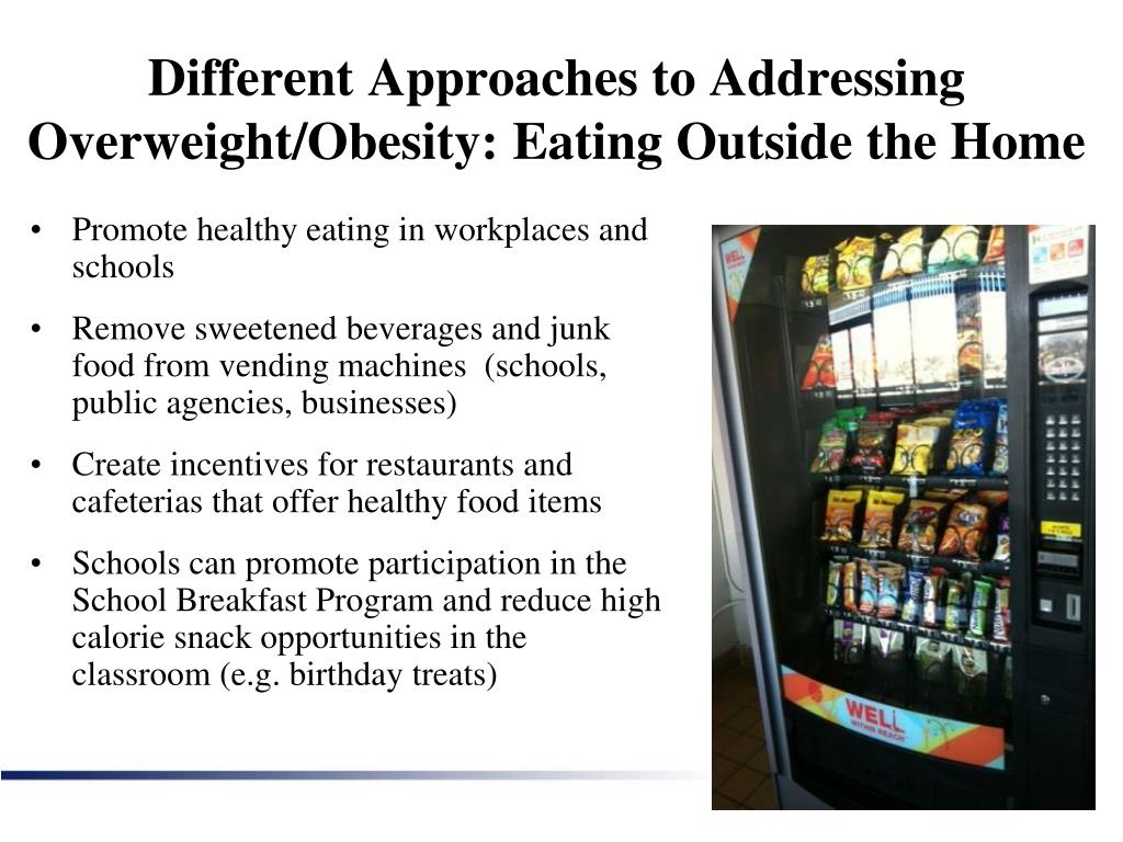 Different Approaches to Addressing Overweight/Obesity: Eating Outside the Home
