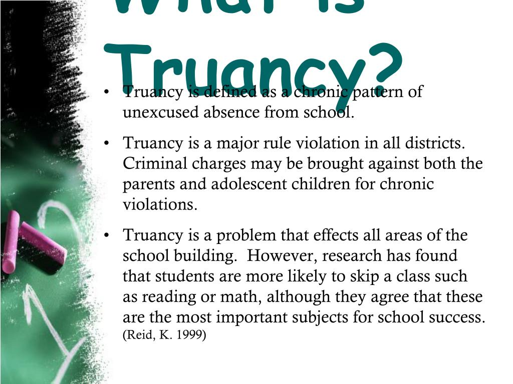What is Truancy?