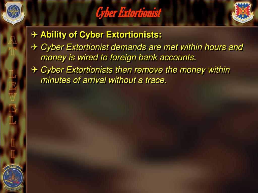 Cyber Extortionist