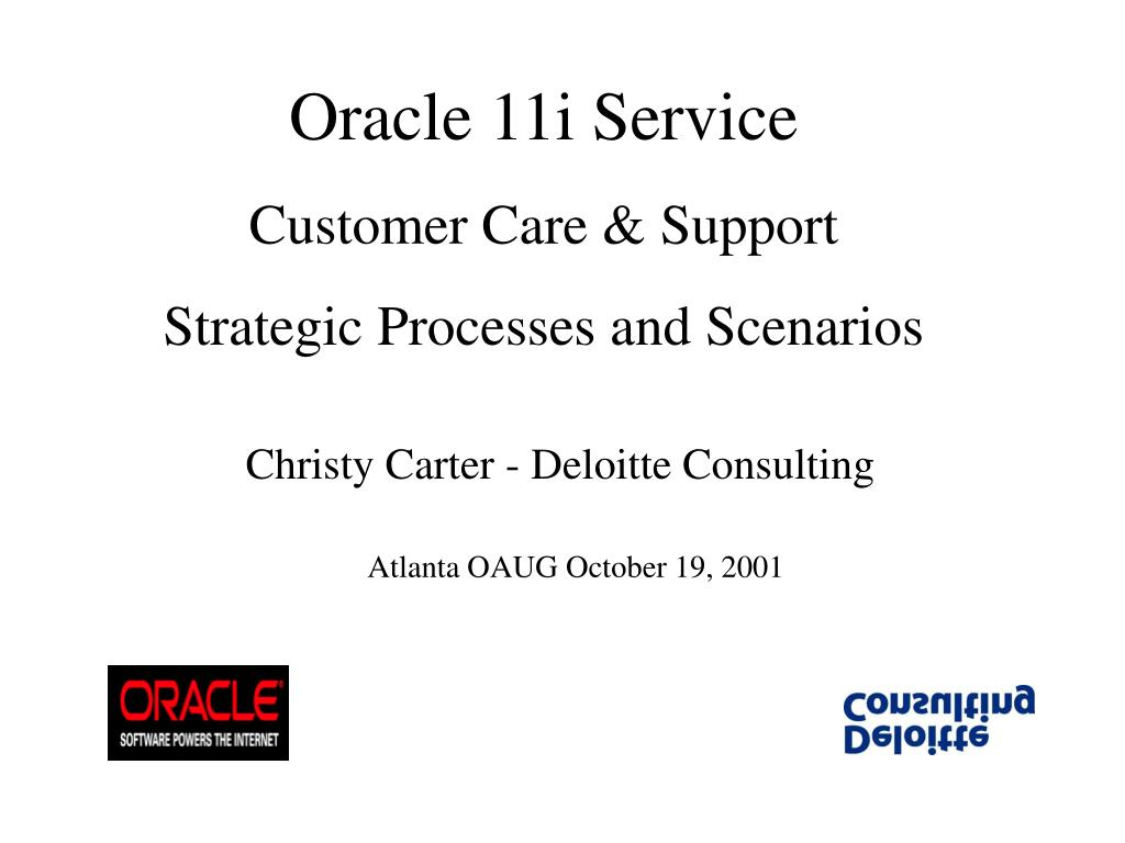 Oracle 11i Service