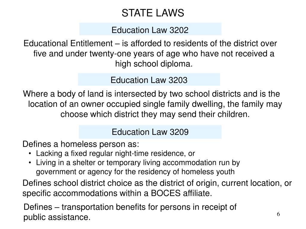 Education Law 3202