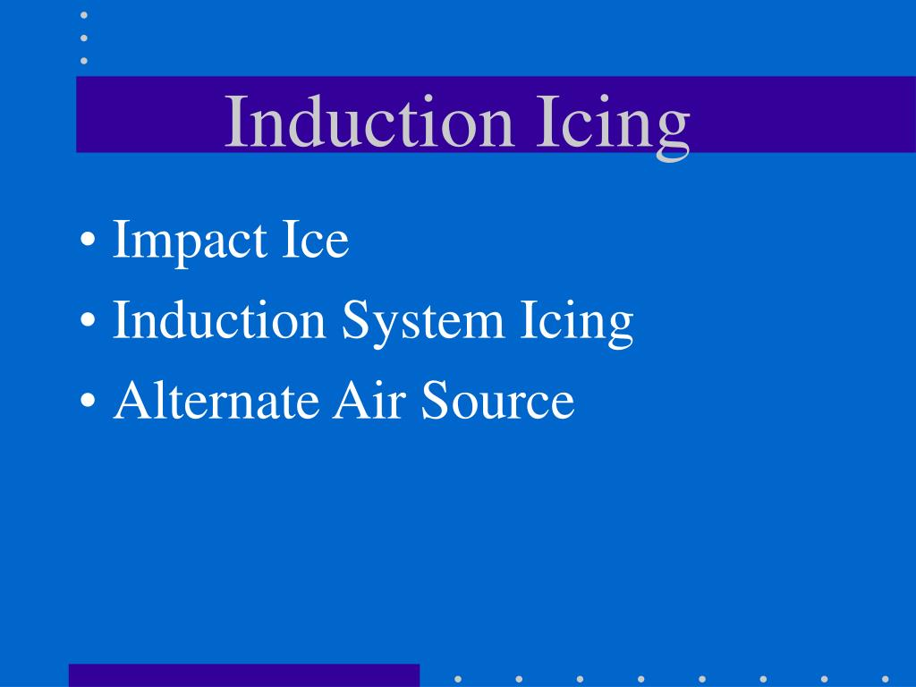 Induction Icing