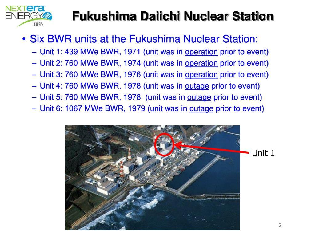 Fukushima Daiichi Nuclear Station
