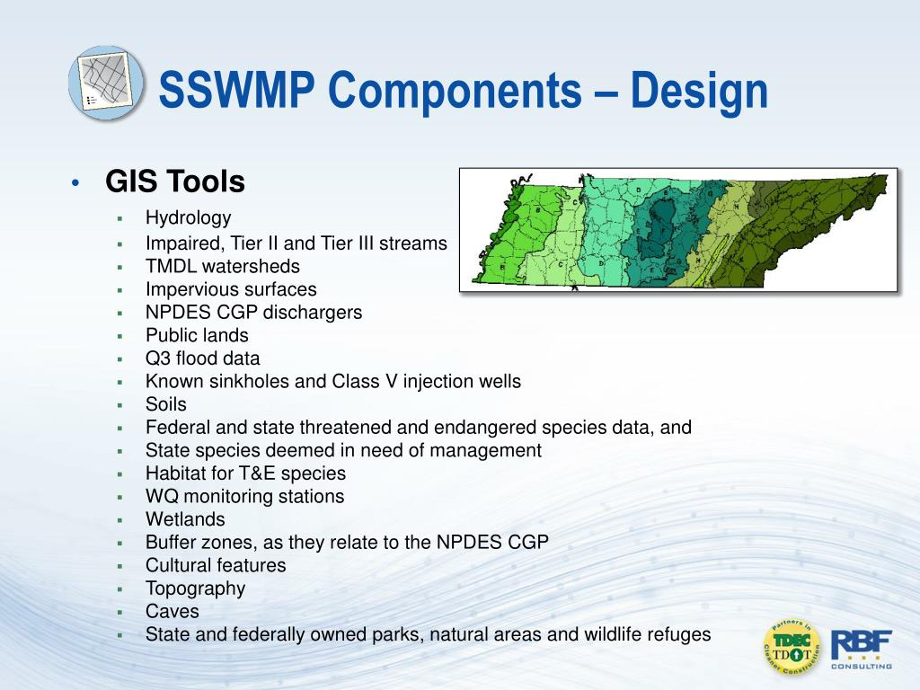 SSWMP Components – Design