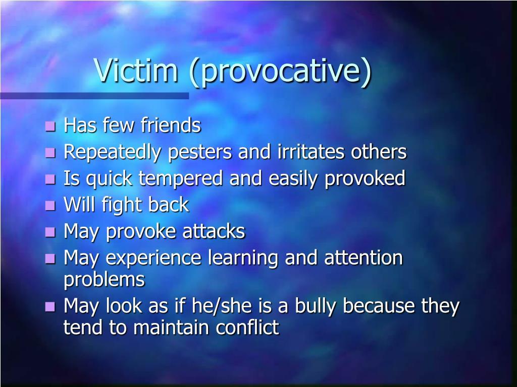 Victim (provocative)