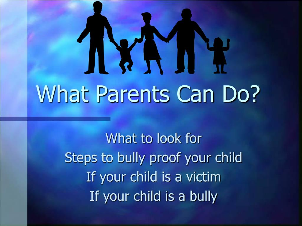 What Parents Can Do?
