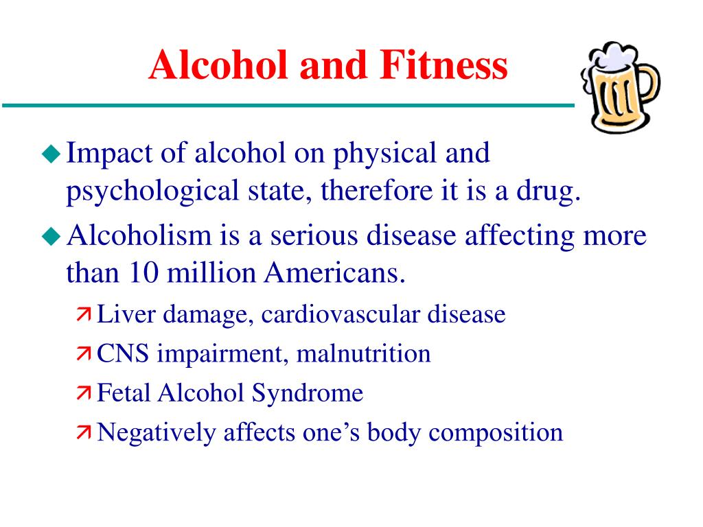 Alcohol and Fitness