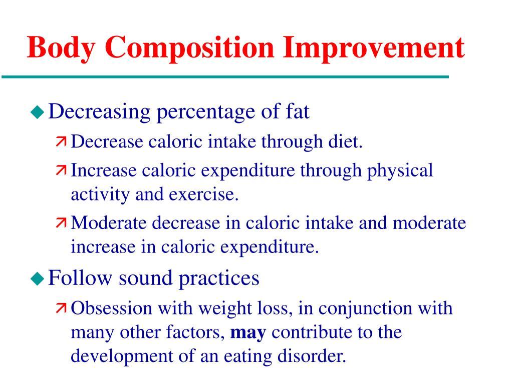 Body Composition Improvement