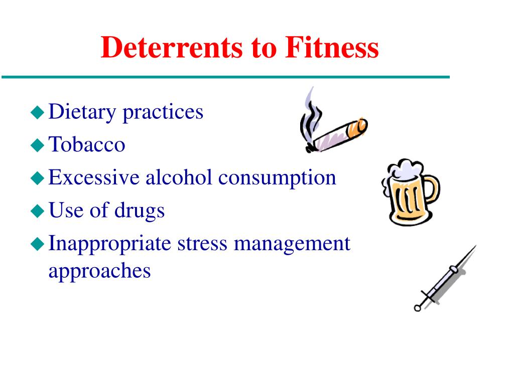 Deterrents to Fitness