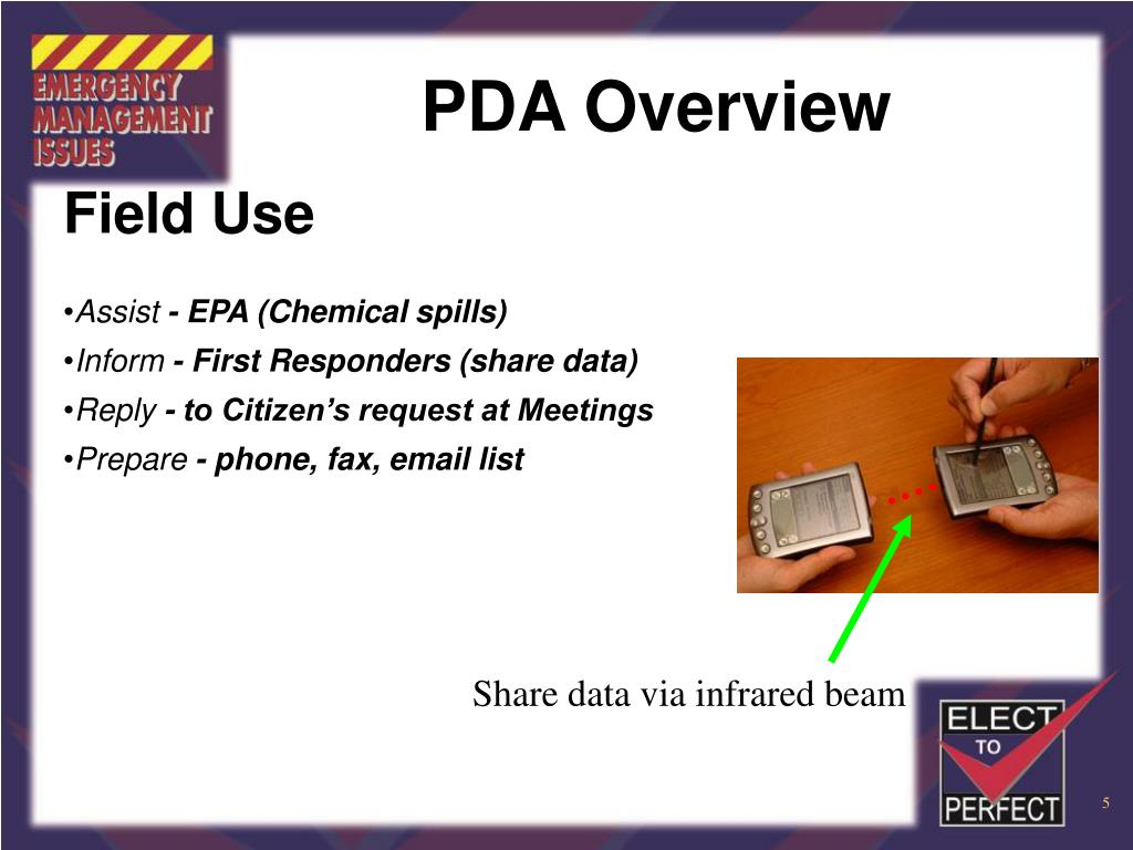 PDA Overview