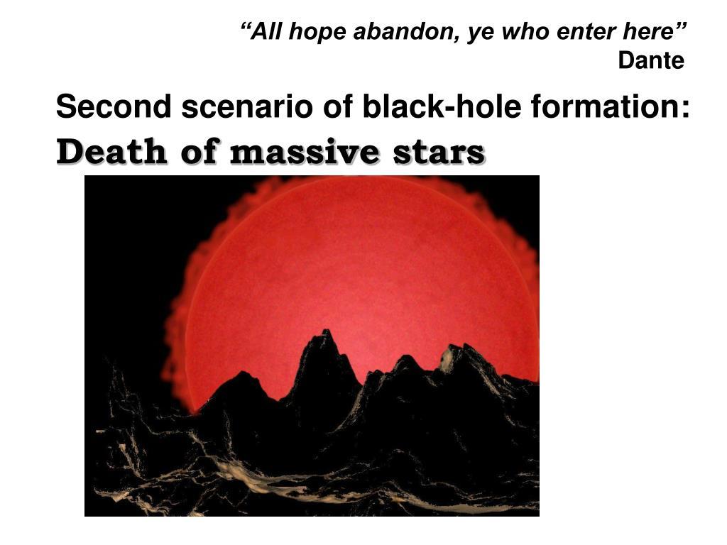 """All hope abandon, ye who enter here"""
