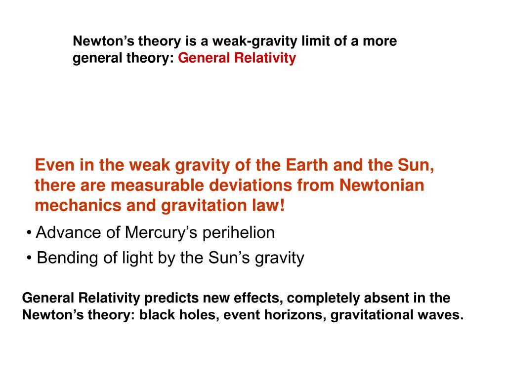 Advance of Mercury's perihelion