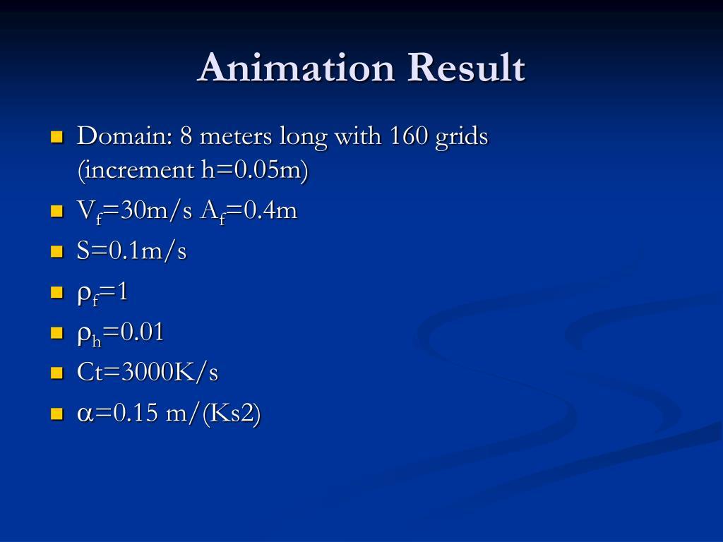 Animation Result