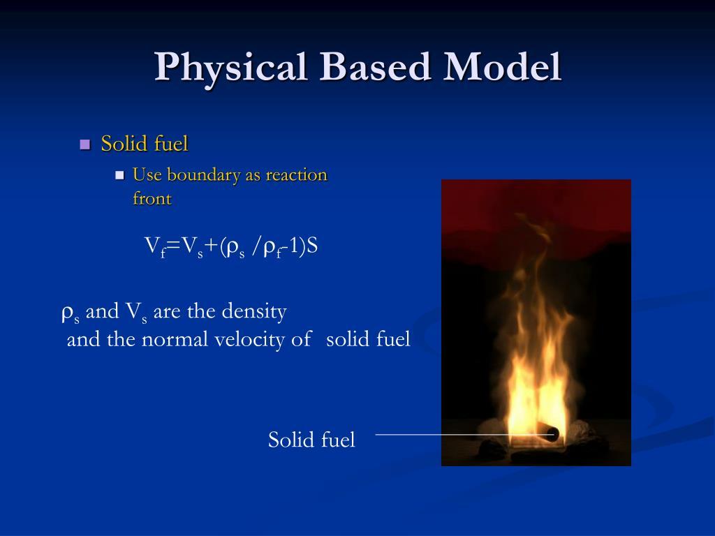 Physical Based Model