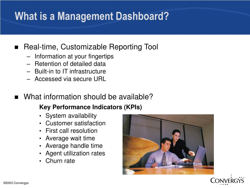 What is a Management Dashboard?
