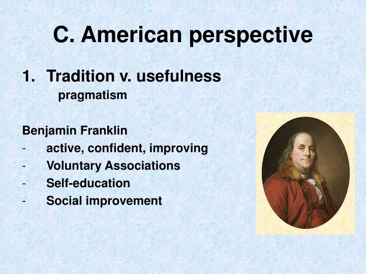 C. American perspective