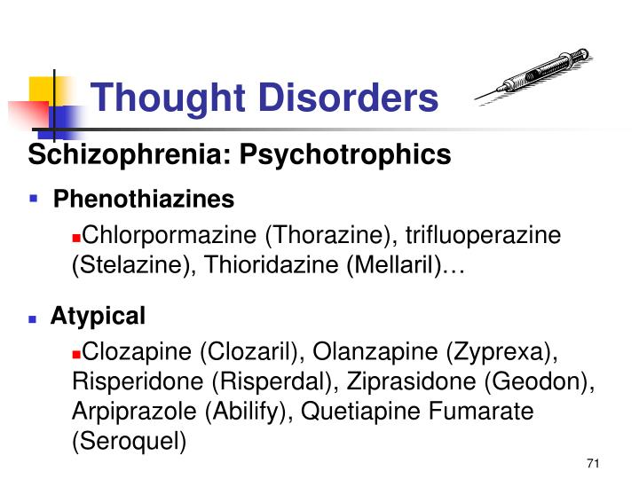Thought Disorders