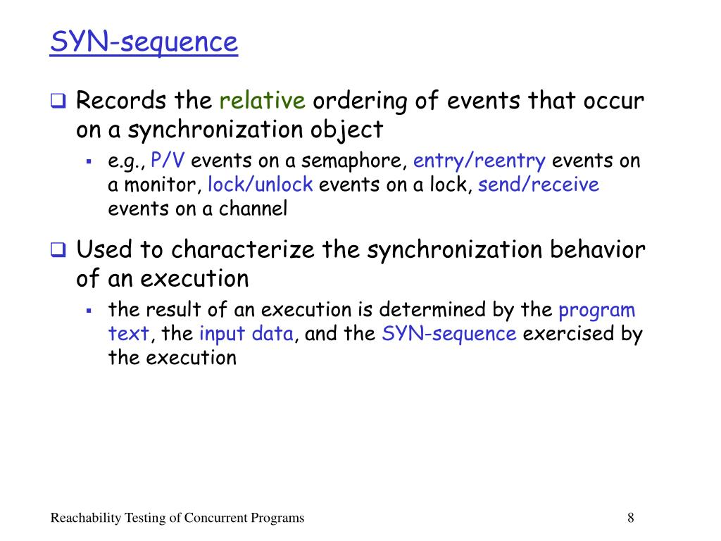 SYN-sequence