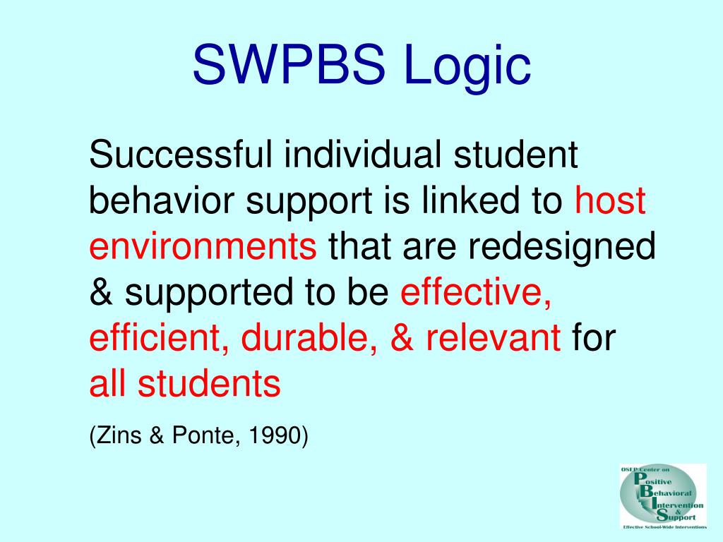 SWPBS Logic