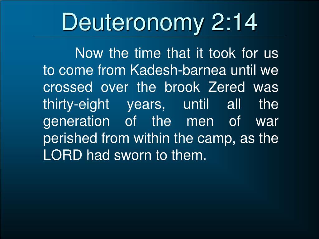Deuteronomy 2:14