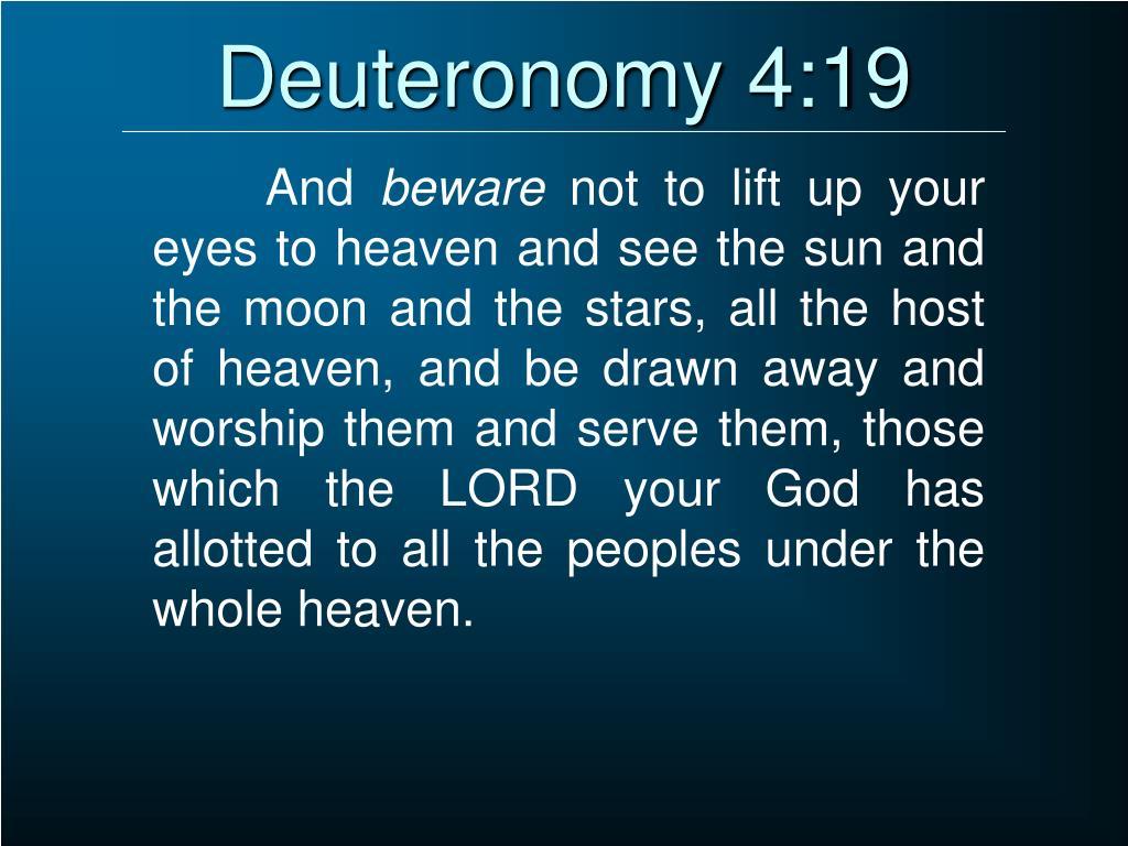 Deuteronomy 4:19