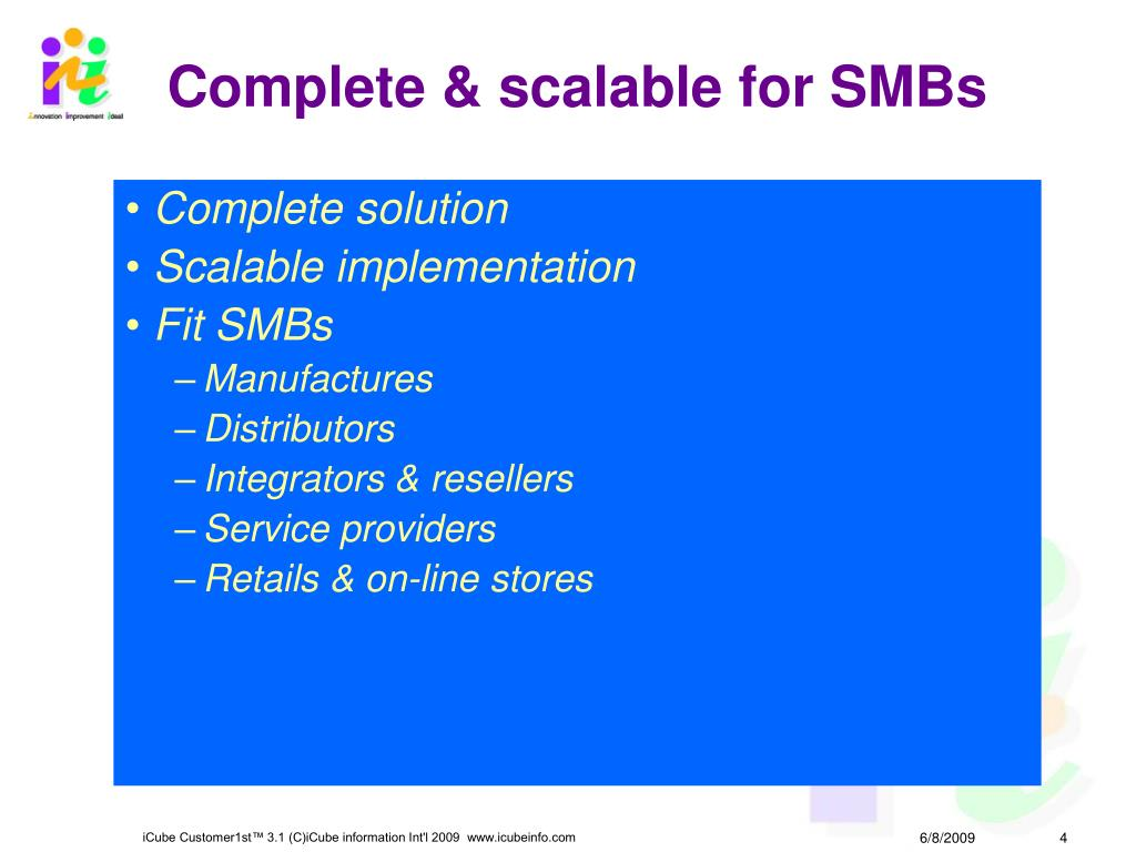 Complete & scalable for SMBs