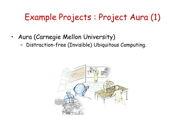 Example Projects : Project Aura (1)