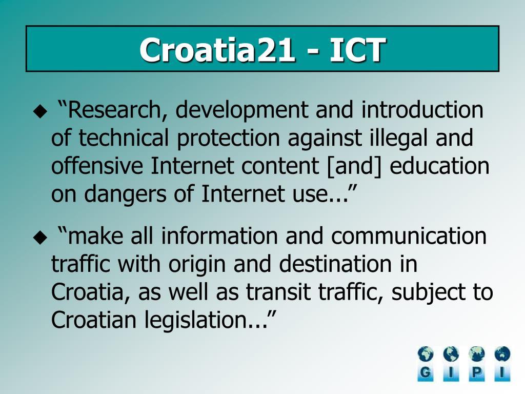 Croatia21 - ICT