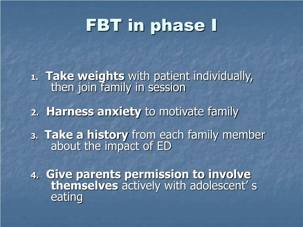 FBT in phase I