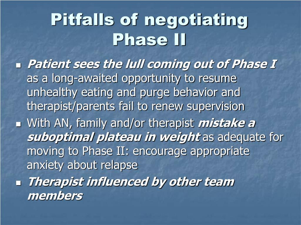 Pitfalls of negotiating