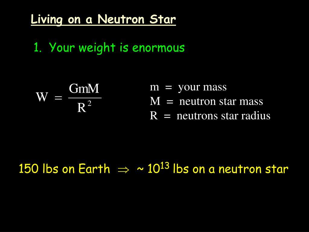 Living on a Neutron Star