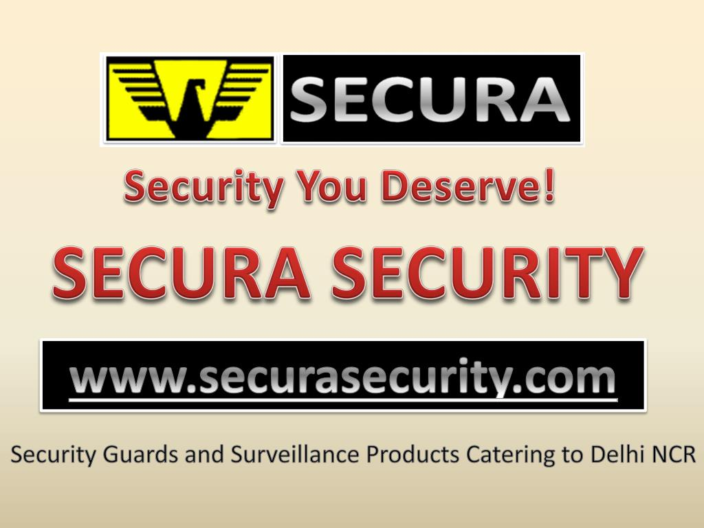 Security You Deserve!