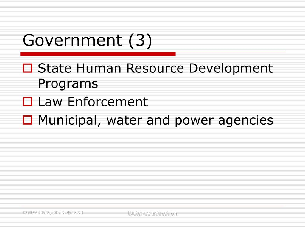 Government (3)