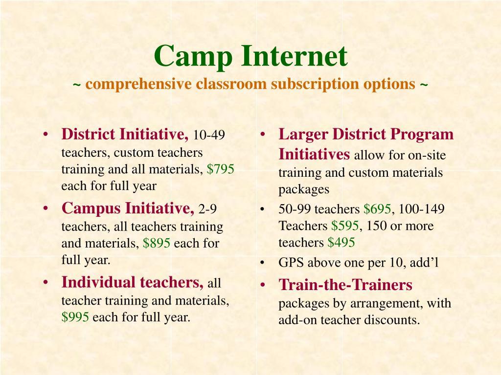 District Initiative,
