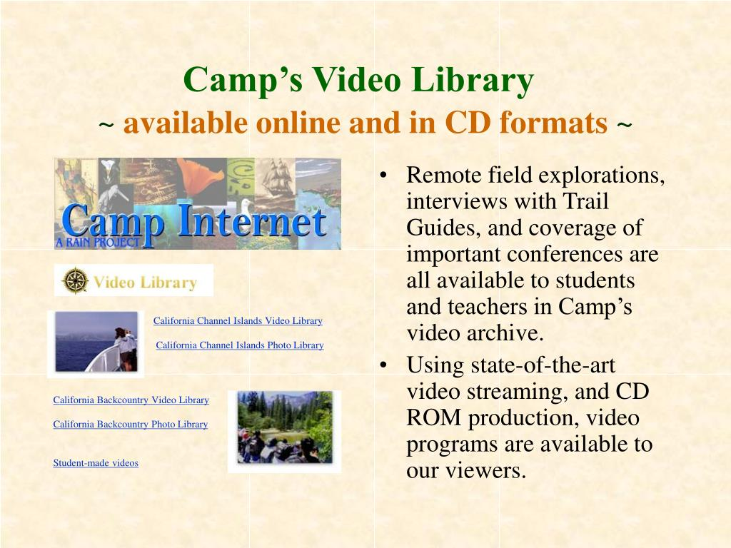 Camp's Video Library