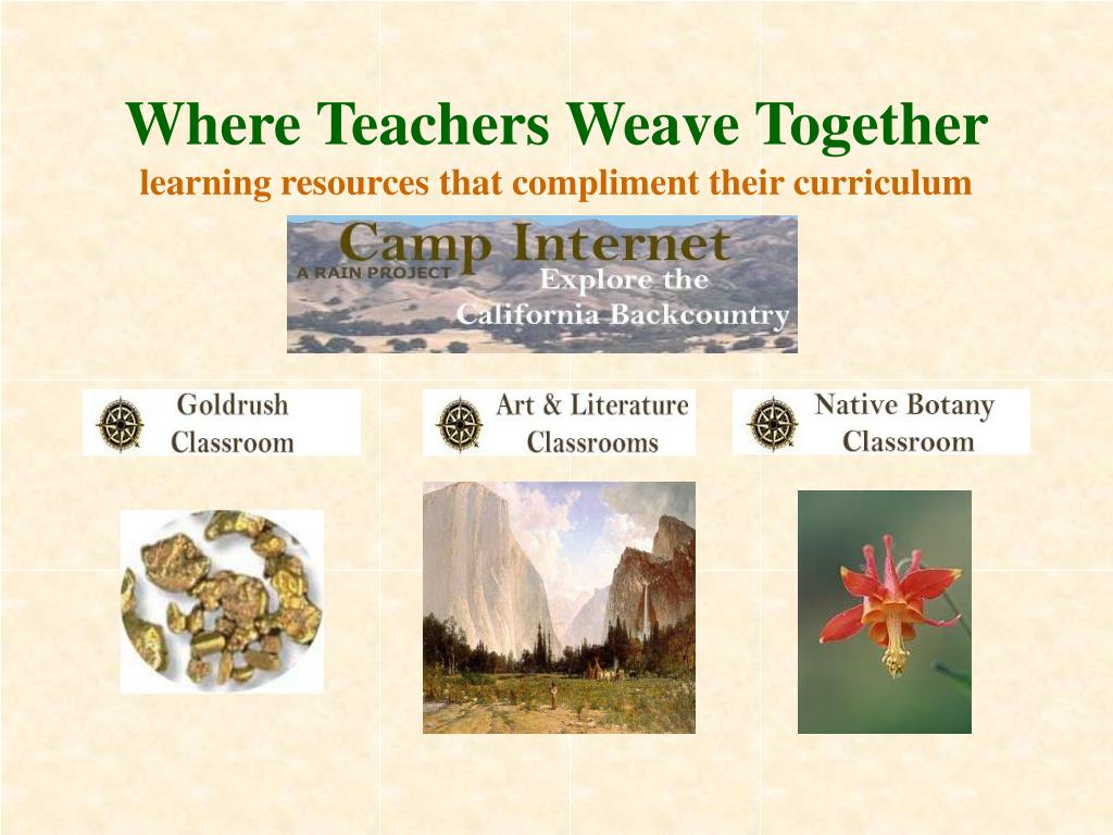 Where Teachers Weave Together