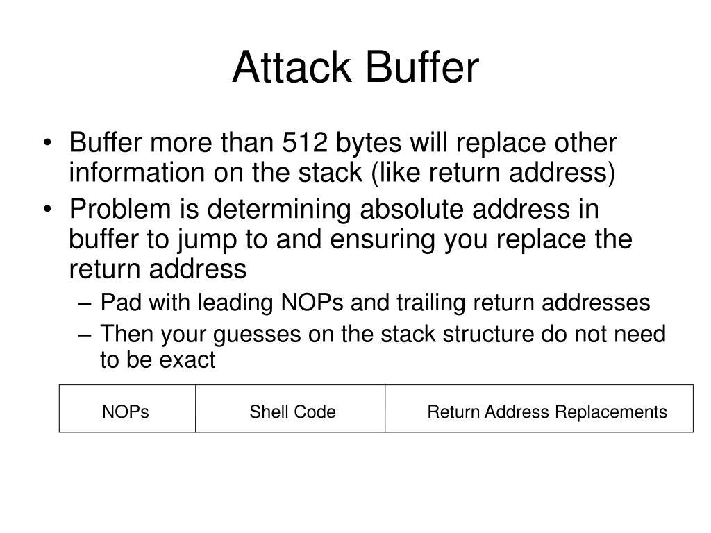 Attack Buffer