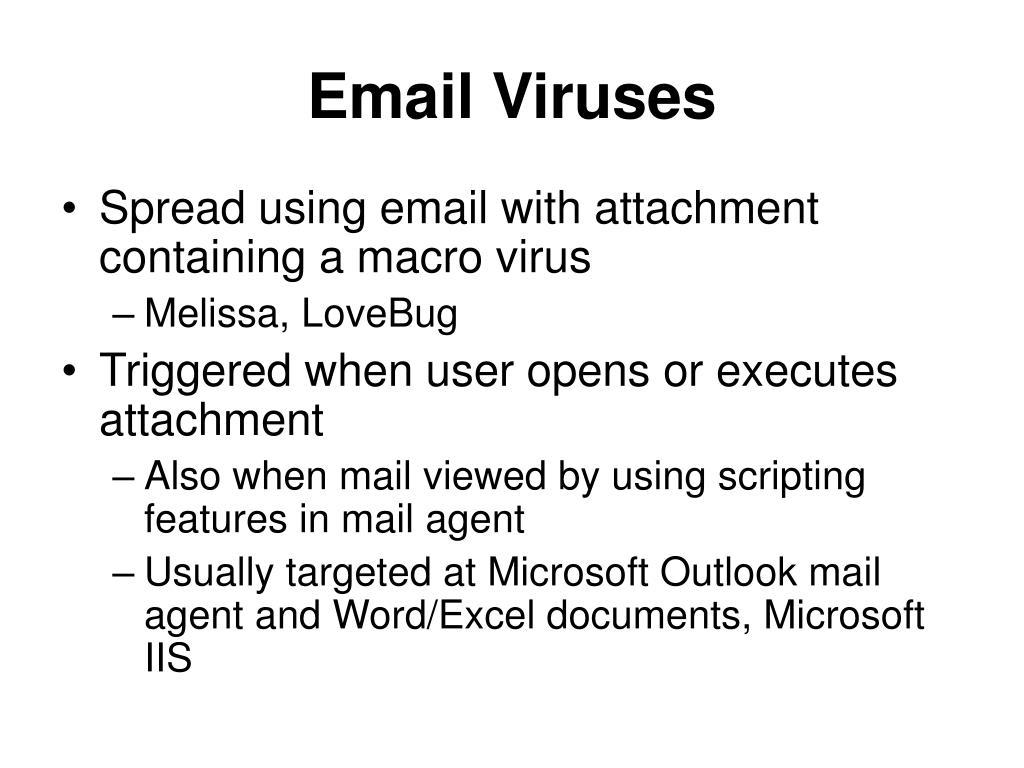 Email Viruses