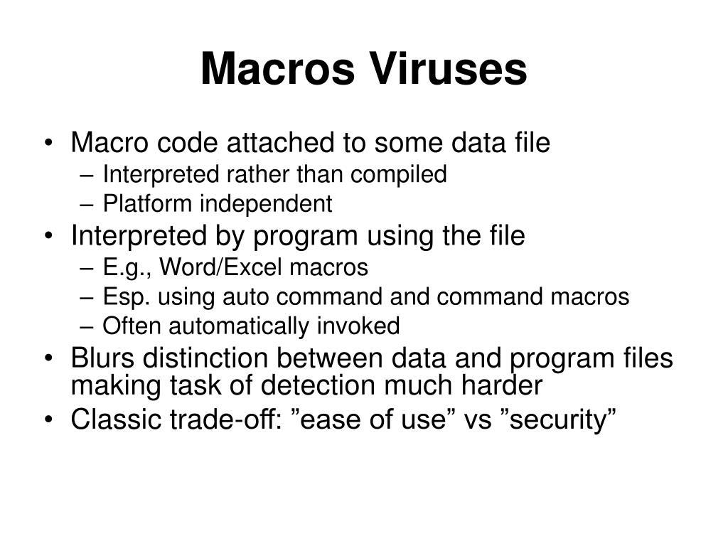Macros Viruses