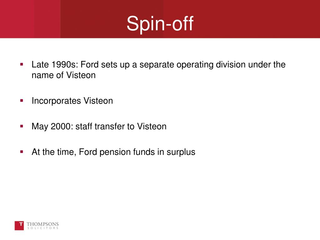 Late 1990s: Ford sets up a separate operating division under the name of Visteon