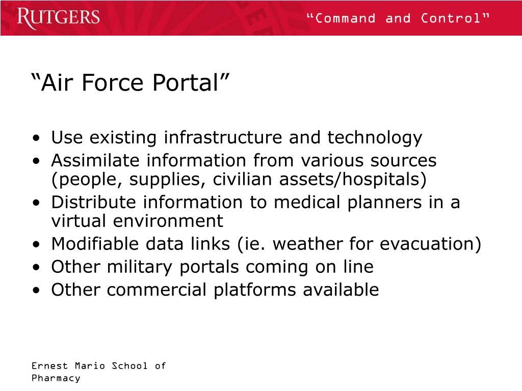 """""""Air Force Portal"""""""