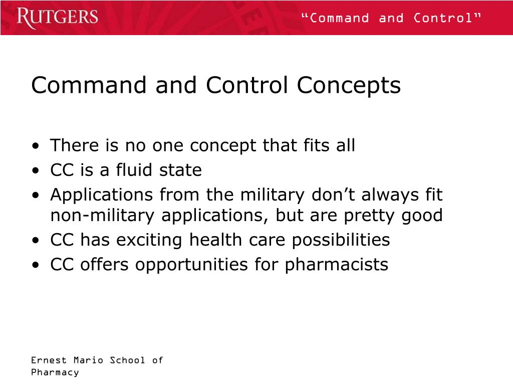 Command and Control Concepts