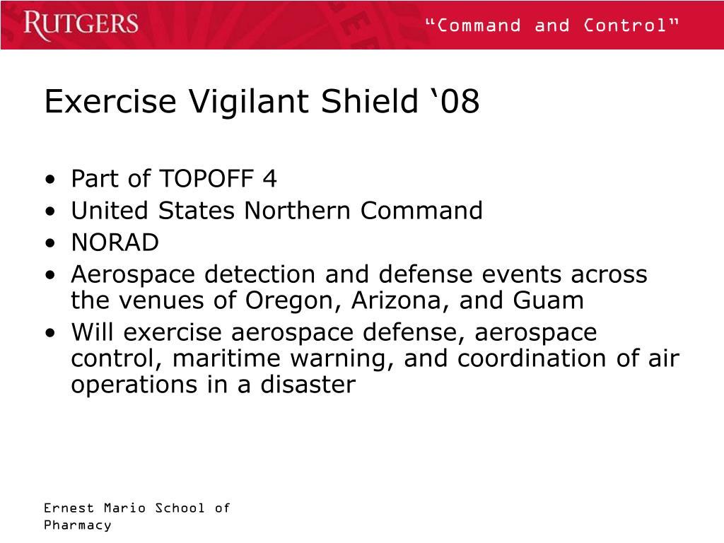 Exercise Vigilant Shield '08