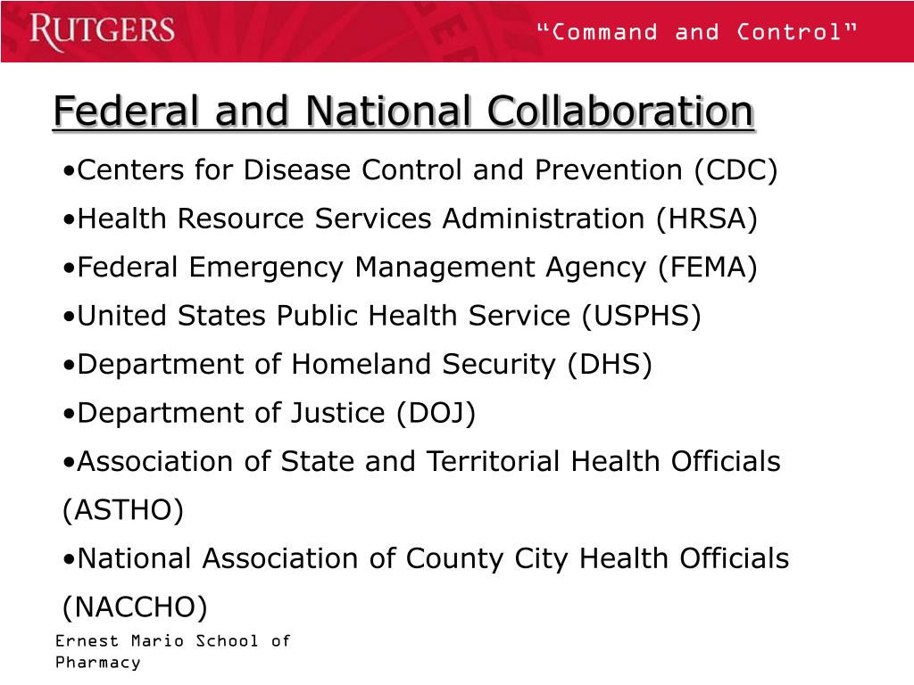 Federal and National Collaboration