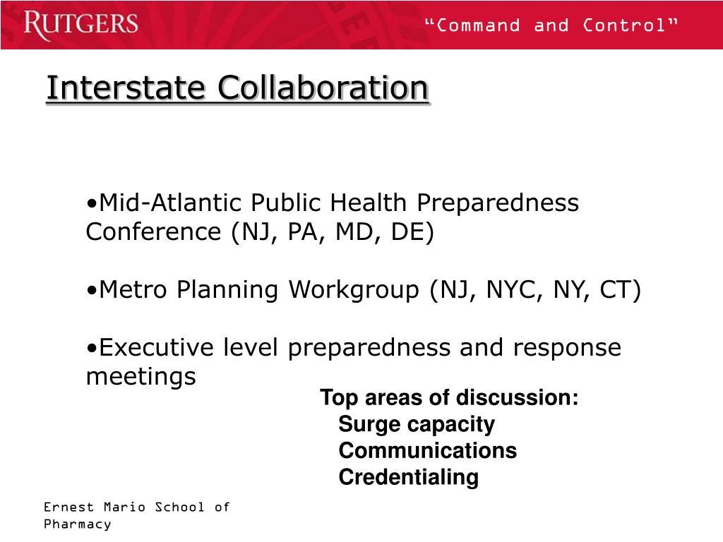Interstate Collaboration