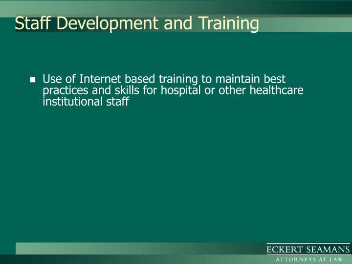 Staff Development and Training
