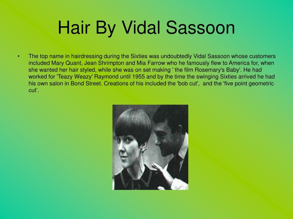 Hair By Vidal Sassoon