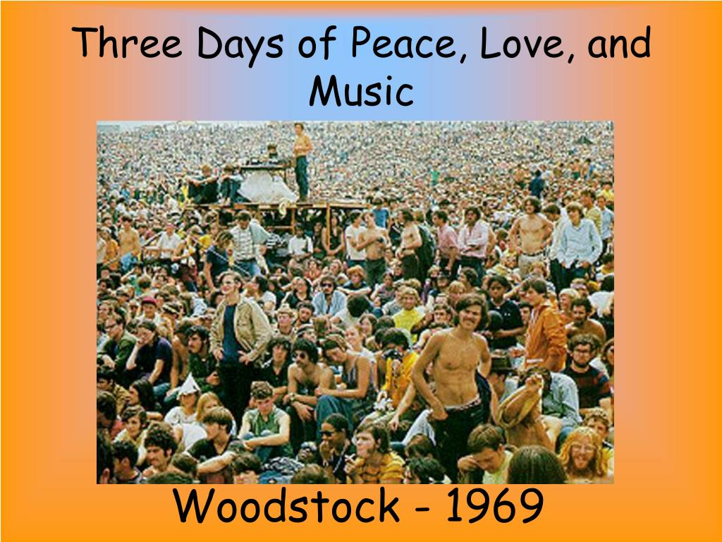 Three Days of Peace, Love, and Music