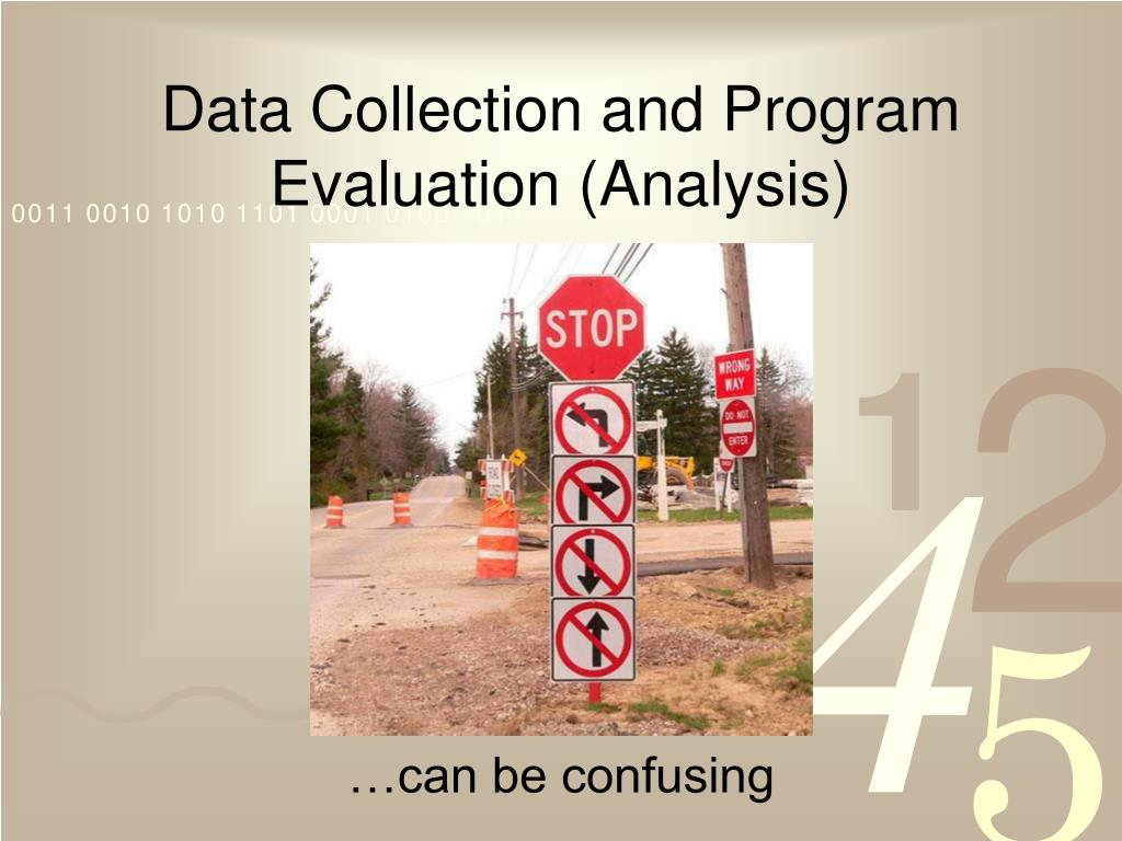 Data Collection and Program Evaluation (Analysis)