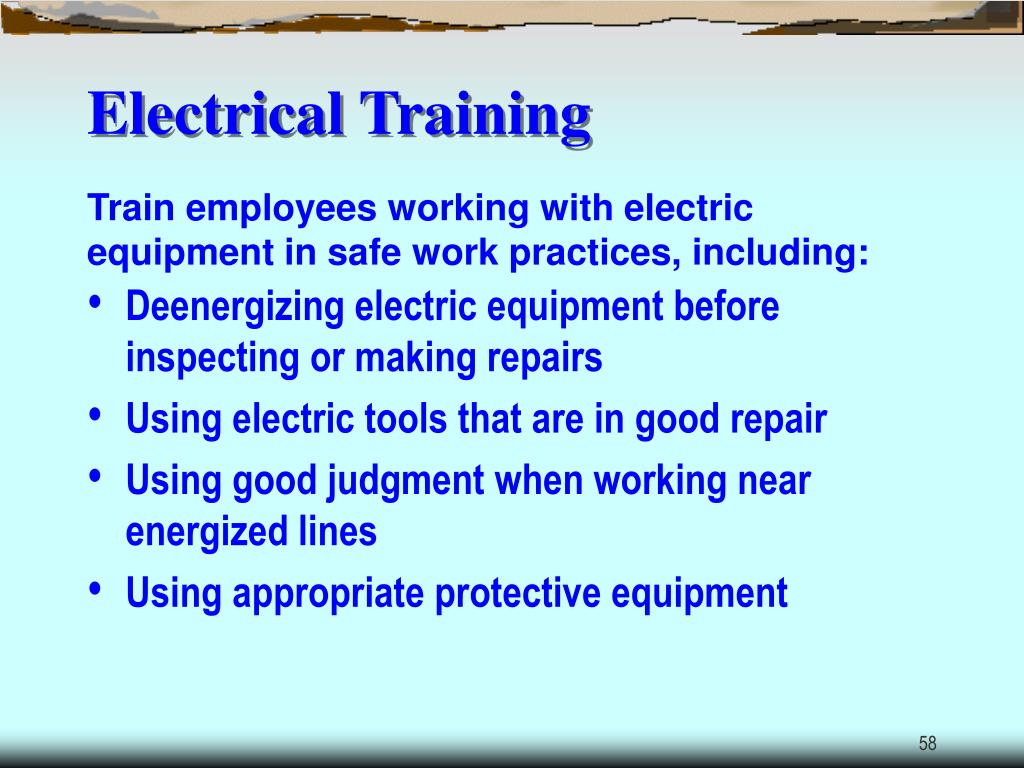 Electrical Training